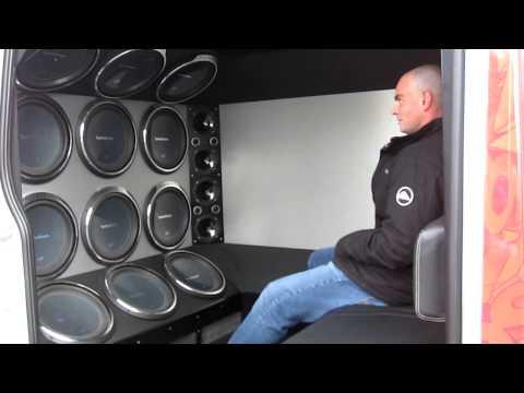 Custom Rockford Fosgate truck in Oxnard stereo 1 ventura county