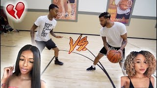 1V1 BASKETBALL VS FLIGHT (LOSER HAS TO WATCH THE OTHER PERSON KISS THEIR EX)