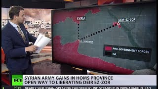 Advance on last ISIS stronghold in Homs opening way to Deir ez-Zor liberation