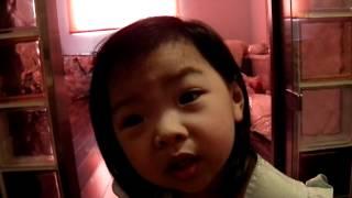 2歲5個月--坐小馬桶唱歌