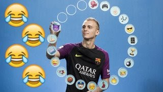 fc barcelona funny moments part iv messi s bathroom habits emojis more funniest moments