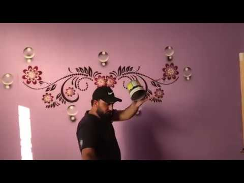 stencil painting | Spray Painting - JSON Innovatives