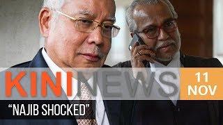 Najib shocked after ordered to enter defence | Kini News - 11 Nov