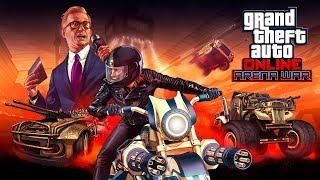 GTA V ONLINE : ARENA WAR | GASTEI 4.000.000 NA GARAGEM DA ARENA
