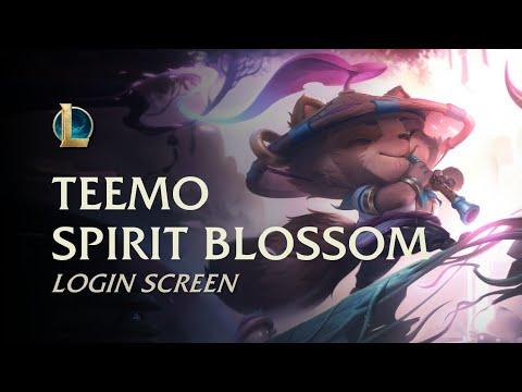 Teemo Spirit Blossom | Login Screen - League of Legends