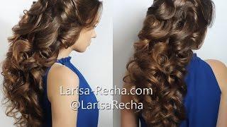 Греческая коса на очень длинные волосы