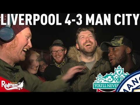 Liverpool v Man City 4-3 | #LFC Free For All Fan Cam