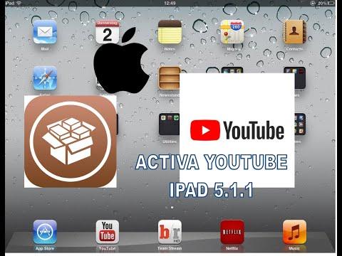 📱📱📱🖲🖲Activar Youtube En Ipad 1 Versión IOS 5.1.1 2020 ULTIMO PASO