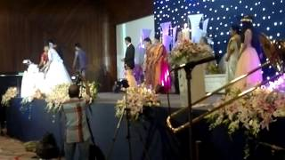 Kerala wedding Cake cutting/live saxophone fusion band by fullhouseentertainments kerala kochi
