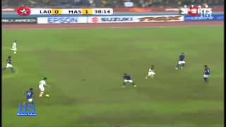 AFF Suzuki Cup 2012 - Malaysia 4-1 Laos ( All goals highlight)