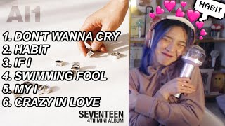 SEVENTEEN - Al1 The 4th Mini Album 💎 FIRST LISTEN PARTY 🎵💿 (SVT ALBUM REACTION)