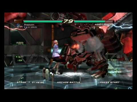 Tekken 6 - Alisa vs Nancy-MI847J
