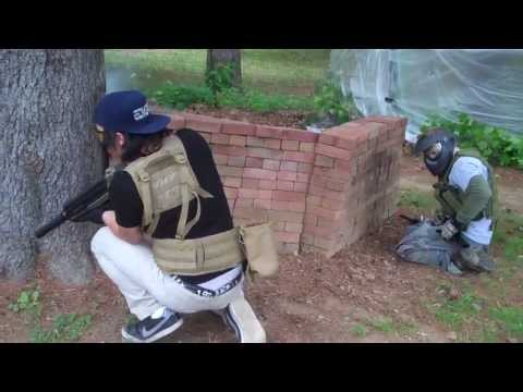 Combative Airsoft Backyard War 6-2-13