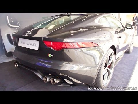 Jaguar F-Type V8 R Coupe Start Up and Loud Revs