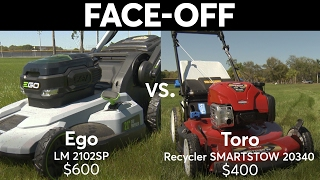 Gasoline & Electric Self-Propelled Mower Face-Off | Consumer Reports