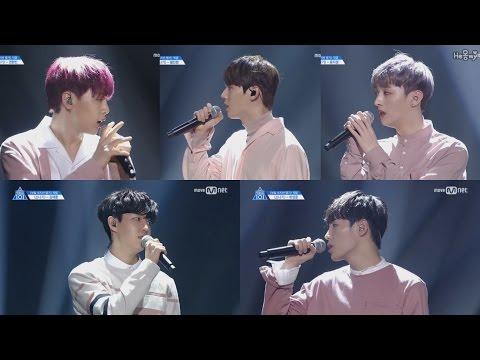 [Produce101 S2] Vocal Position I.O.I 소나기〈Downpour〉Team Fancam Compilation HD