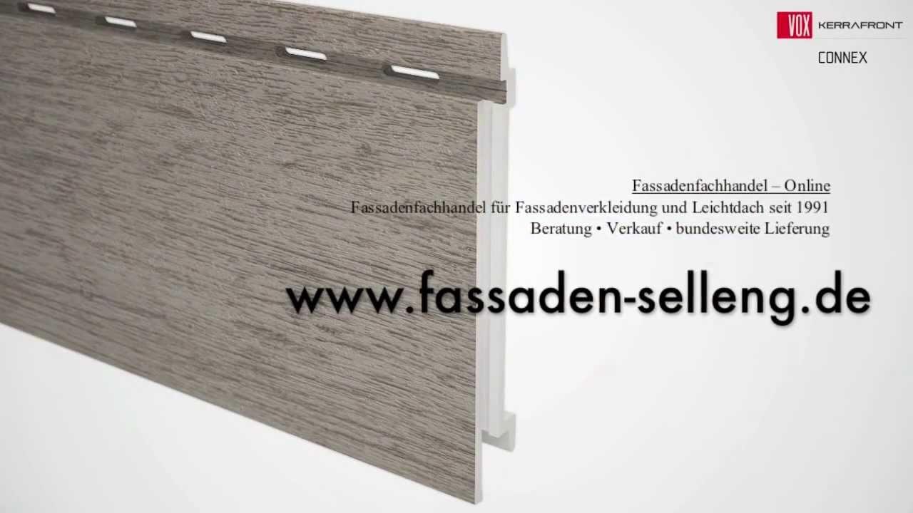 fassadenverkleidung mit kerrafront fassadenpaneele youtube. Black Bedroom Furniture Sets. Home Design Ideas