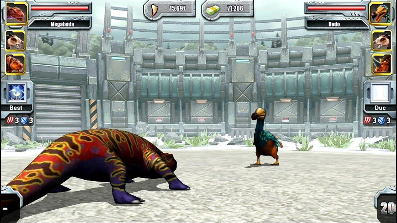 Megalania Jurassic Park Builder Max Level Megalania - ...