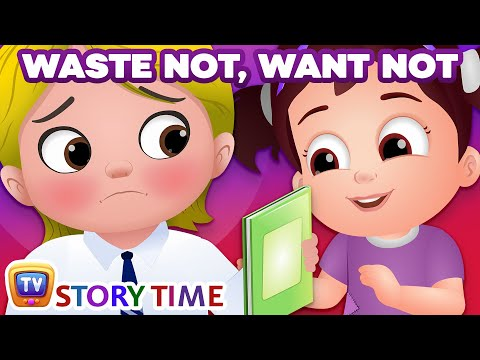Waste Not, Want Not - ChuChu TV Storytime Good Habits Bedtime Stories for Kids