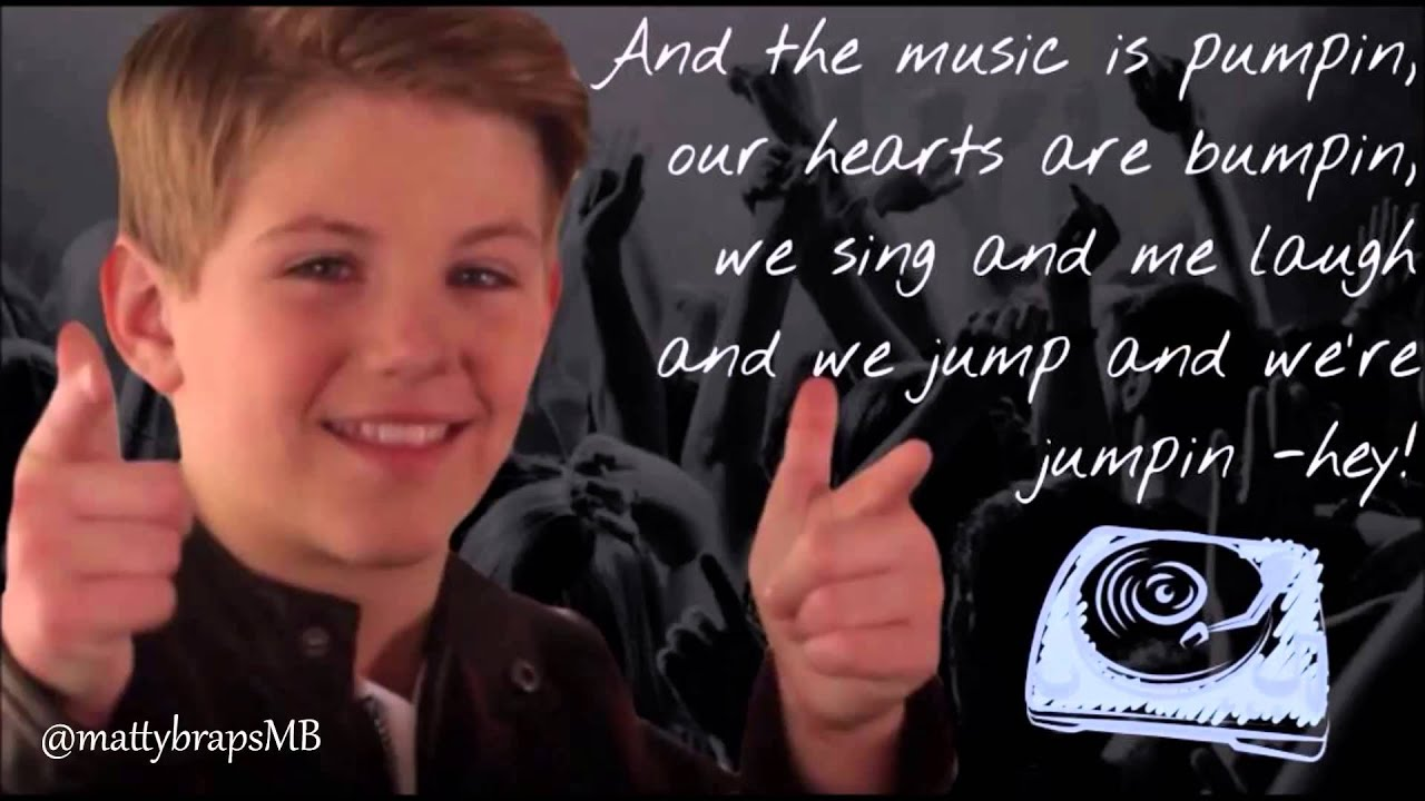 MattyB Turn Up The Track lyrics video