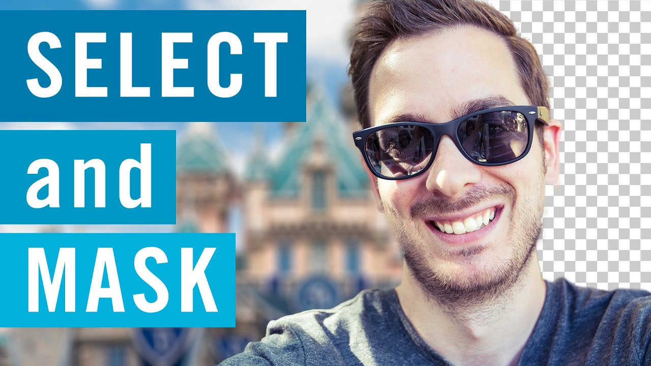 NEW Select and Mask in Photoshop CC 2015