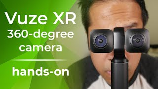 Vuze XR is a versatile 360-degree camera on steroids [hands-on]