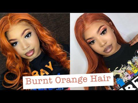 How to Dye Hair Burnt Orange | Slaybyciara