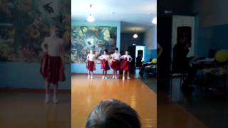 Танец под песню самая самая!
