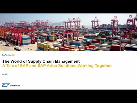 SAP Ariba Supply Chain Management Extensive Overview