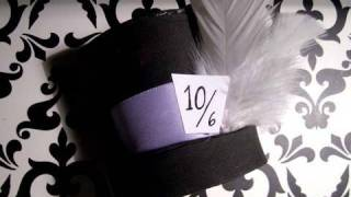 Halloween: How To Make A Mini Top Hat