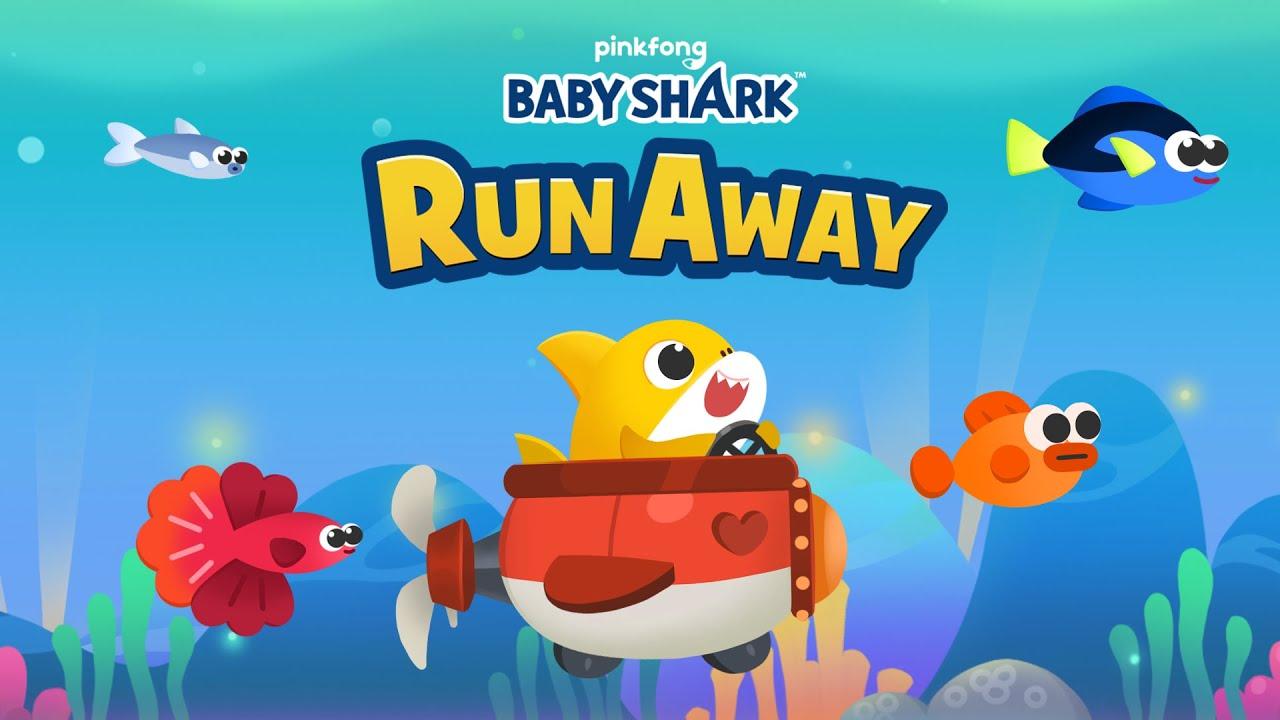 [App Trailer] Baby Shark Run Away   🎮  Play Now!   Baby Shark Game