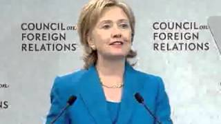 2012 Slip of the Hillary serpent tounge. Listen Closely