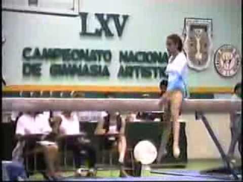 CAMPEONATO NACIONAL DE GIMNASIA, MEXICALI BAJA CALIFORNIA MEXICO 1993