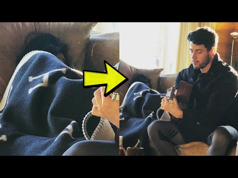 Priyanka Chopra sleeping behind Nick Jonas on sofa latest Pics video Lifestyle