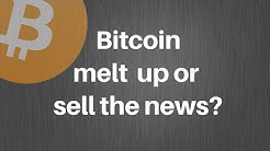 Bitcoin Halving! Sell or hold?