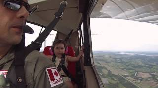 FIRST AEROBATIC FLIGHT LEA
