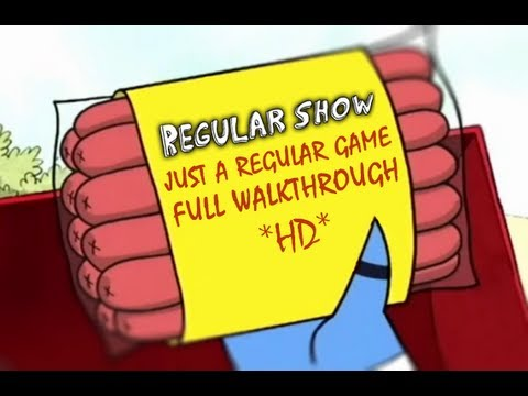 Regular Show: Just a Regular Game 3 Parts FULL Walkthrough *HD*