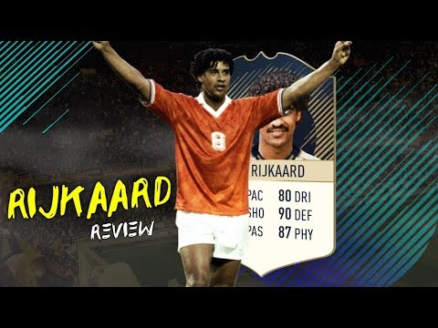 FIFA 18 - PRIME ICON RIJKAARD (90) PLAYER REVIEW