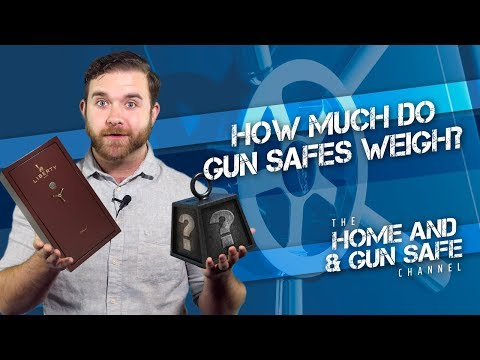 How Much Do Gun Safes Weigh?