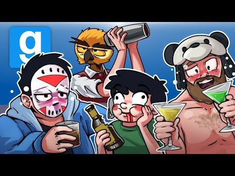 Gmod Ep. 69 DEATHRUN! - NEW YEARS EDITION! (Garry's Mod Funny Moments)
