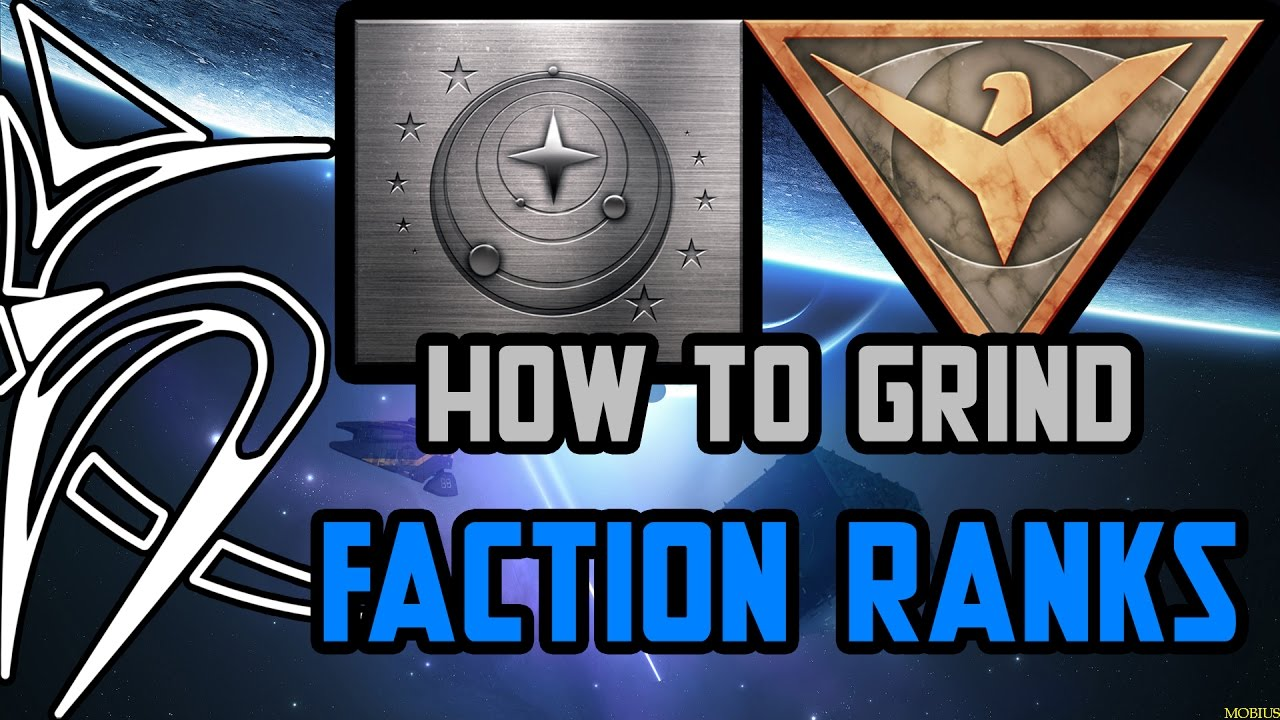 How to grind Empire/Federation RANKS [Elite Dangerous]