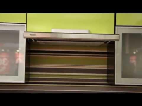 Кухонная вытяжка BREEZE II - видео обзор встроенной телескопической вытяжки
