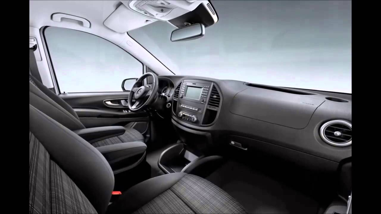New 2015 mercedes vito interior youtube for Mercedes vito interieur