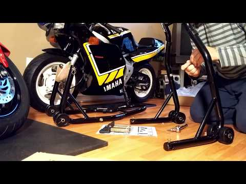 Honda Grom Venom Motorcycle Stands Unboxing And Build Youtube