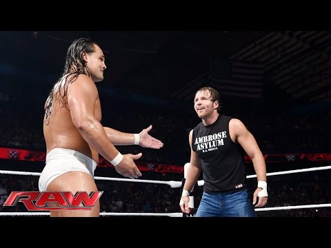 Dean Ambrose vs. Bo Dallas: Raw, July 6, 2015