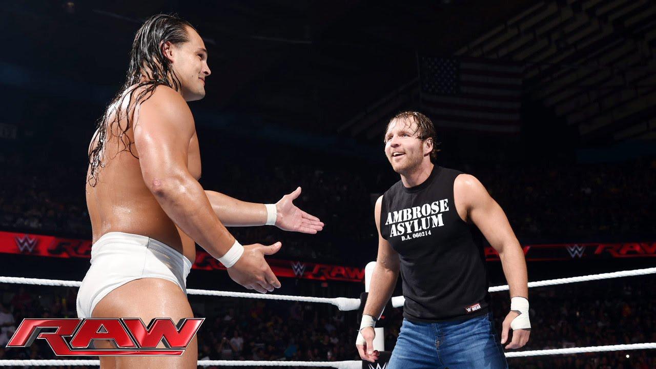 Dean Ambrose vs. Bo Dallas: Raw, July 6, 2015