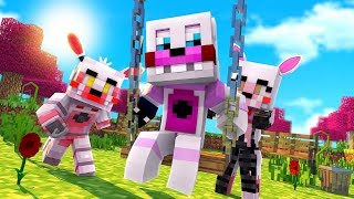 Funtime Freddy Becomes apart of the Daycare! [Ep.10] (Minecraft Fnaf Daycare)