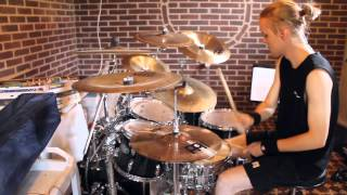 Cannibal corpse-Evisceration plague drum cover HD