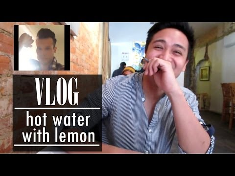 VLOG 2 hot water with lemon 220214