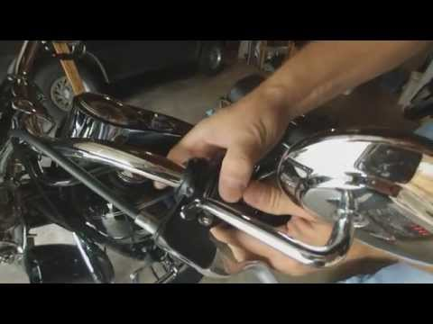 Harley Davidson Softail Deluxe Grip Replacement
